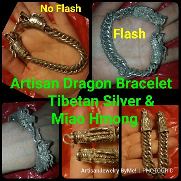 SaleArtisan Dragon Tibet Silver Hmong Miao Silver Boutique